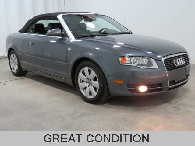 Pre-Owned 2008 Audi A4 2.0T Cabriolet FrontTrak 2D Convertible